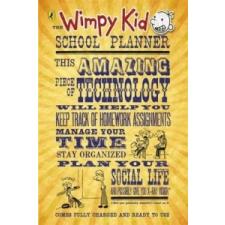 Wimpy Kid School Planner – Jeff Kinney idegen nyelvű könyv