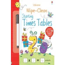 Wipe-clean Starting Times Tables – Jessica Greenwell idegen nyelvű könyv