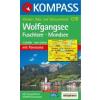 WK 018 - Wolfgangsee turistatérkép - KOMPASS