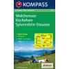 WK 06 - Walchensee-Kochelsee-Sylvenstein Stausee turistatérkép - KOMPASS