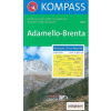 WK 070 - Adamello-Brenta turistatérkép - KOMPASS