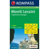 WK 100 - Monti Lessini - Recoaro Terme turistatérkép - KOMPASS