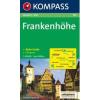 WK 164 - Frankenhöhe turistatérkép - KOMPASS