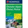 WK 43 - Ötztaler Alpen turistatérkép - KOMPASS