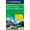 WK 46 - Matrei in Osttirol - Kals am Grossglockner turistatérkép - KOMPASS