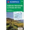 WK 685 - Südtiroler Weinstrasse turistatérkép - KOMPASS