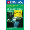 WK 885 - St.Georgen - Triberg turistatérkép - KOMPASS