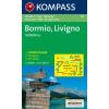 WK 96 - Bormio - Livigno - Corna di Campo turistatérkép - KOMPASS