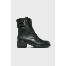 Wojas - Magasszárú cipő - fekete - 1412049-fekete