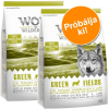Wolf of Wilderness Próbacsomag: 2 x 1 kg Wolf of Wilderness száraztáp - Adult Oak Woods