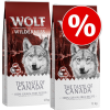 Wolf of Wilderness 'The Taste Of' gazdaságos csomag (2 x 12 kg) - Mix: Canada, Scandinavia