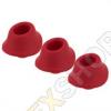 Womanizer Premium M - piros - 3 darabos pótszívóharang szett