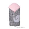 Womar Hímzett pólya Womar elefánt rózsaszín | Rózsaszín |