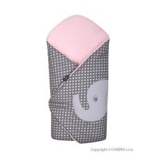Womar Hímzett pólya Womar elefánt rózsaszín | Rózsaszín | pólya