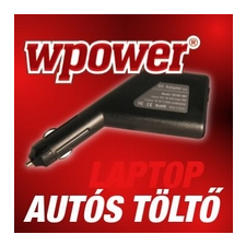 WPOWER eMachines M5000, M6000 autós töltő egyéb notebook autós töltő