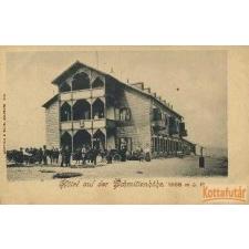 Würthle & Sohn Schmittenhöhe - Hotel auf der Schmittenhöhe, 1968 m ü. M. képeslap