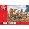 WWII US Marines figura makett Airfix A01716