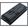 X50VL 4400 mAh 6 cella fekete notebook/laptop akku/akkumulátor utángyártott