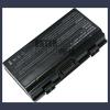 X51 4400 mAh 6 cella fekete notebook/laptop akku/akkumulátor utángyártott
