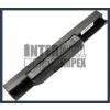 X53Z 4400 mAh 6 cella fekete notebook/laptop akku/akkumulátor utángyártott
