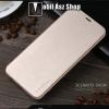 X-LEVEL Slim notesz / mappa tok - ARANY - oldalra nyíló flip cover, szilikon belsõ - SAMSUNG SM-G960 Galaxy S9 - GYÁRI
