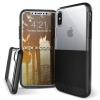 XDoria X-Doria Dash védőtok Apple iPhone X/XS készülékhez. Fekete Bőr