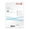 Xerox Etikett, univerzális, 63,5x38,1 mm, kerekített sarkú, XEROX, 2100 etikett/csomag [100 lap]