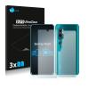 Xiaomi 6db-os Savvies SU75 kristálytiszta kijelzőfólia, Xiaomi Mi Note 10 típusú telefonhoz (első + hátsó)
