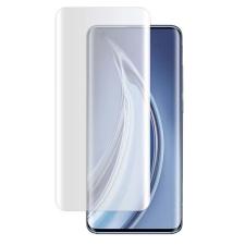 Xiaomi Mi 10 / Mi 10 Pro karcálló edzett üveg HAJLÍTOTT TELJES KIJELZŐS Tempered Glass kijelzőfólia kijelzővédő fólia kijelző védőfólia eddzett UV kötésű mobiltelefon kellék