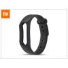 Xiaomi Mi Band 2 aktivitásmérőhöz eredeti szilikon csuklópánt - fekete