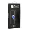Xiaomi Redmi Note 8 Pro full,íves,hajlított kijelzővédő üvegfólia 5D, fekete