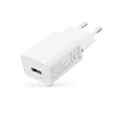 Xiaomi Xiaomi gyári USB hálózati töltő adapter - 5V/1A - C-P17 white (ECO csomagolás) mobiltelefon kellék