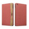 XOOMZ borító textil felülettel és PU műbőr dekorral Apple iPad Mini 4 - piros