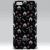 xPRO Puzoo mintás tpu tok dico black Apple iPhone 7 Plus / 8 Plus