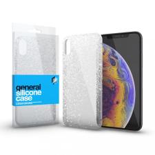 xPRO Szilikon tok Case ultra vékony csillámos átlátszó Samsung S21+ készülékhez tok és táska