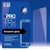 xPRO védőüveg, kijelzővédő üveg, üvegfólia, edzett üveglap – 0.33mm OnePlus X készülékhez