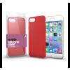 Xprotector Apple iPhone X/Xs korallpiros ultra vékony matt szilikon hátlap tok