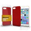 Xprotector Diamond, szilikon hátlap tok, Xiaomi Redmi Note 5A Prime, piros