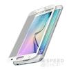 Xprotector Samsung G925 Galaxy S6 Edge  Tempered Glass Full Size 3D kijelzővédő üvegfólia, fehér