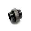 XSPC 5mm adapter 2x 1/4coll menet - fekete króm
