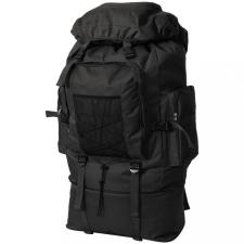 XXL 100 L fekete katona stílusú hátizsák hátizsák