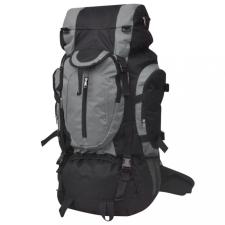XXL 75 literes túra hátizsák fekete és szürke hátizsák
