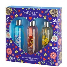 Yardley Luxury Body Wash Collection Szett 3x100 kozmetikai ajándékcsomag