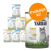 Yarrah bio-pástétom próbacsomag 6 x 400 g - Hal, csirke