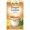 Yogi bio citromos gyömbér tea 17db