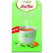 Yogi bio feher tea aloe verával 17 db tea
