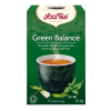 Yogi tea Yogi Bio Zöld egyensúly tea, GREEN BALANCE, 17 filter