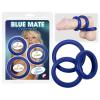 YOU2TOYS Vastagfalú szilikongyűrű trió - kék