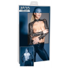 ZADO - csipke-bőr boleró (fekete)