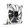 Zalman Dual DF14 Impeller ventilátor, kék LED - fehér / fekete, 140 mm